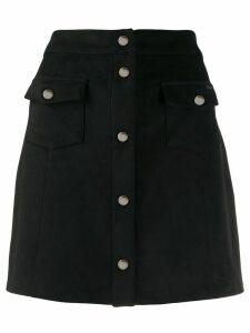LIU JO A-line mini skirt - Black