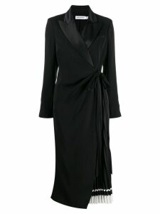 Self-Portrait tailored midi dress - Black