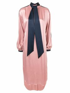 Layeur Kind balloon sleeve midi dress - Pink