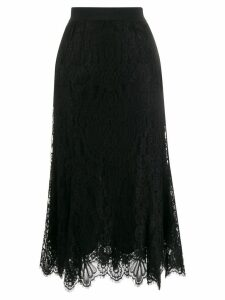 Dolce & Gabbana lace midi skirt - Black