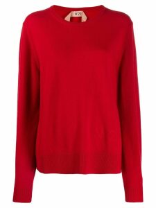 Nº21 round neck sweater - Red