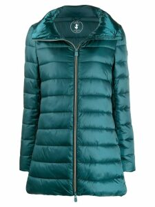 Save The Duck padded zip-front coat - Green