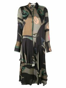 Palmer / Harding printed shirt dress - Black