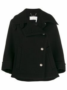 Chloé flared coat - Black