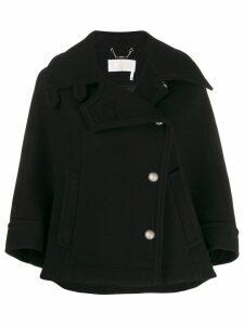 Chloé cape style short jacket - Black