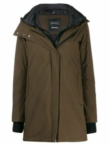 Herno hooded parka coat - Green