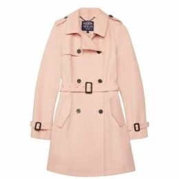 Jack Wills Mitford Classic Trench - Blush