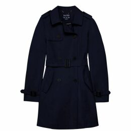 Jack Wills Mitford Classic Trench - Navy