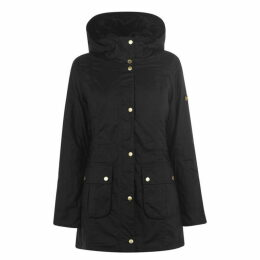Barbour International Kirk Long Wax Jacket