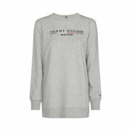 Cotton Mix Print Sweatshirt