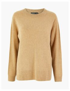 Autograph Pure Cashmere Relaxed Ribbed Jumper