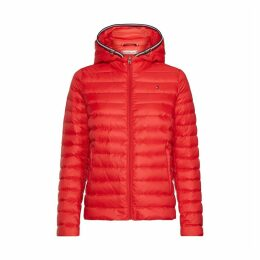 Quilted Hooded Padded Jacket