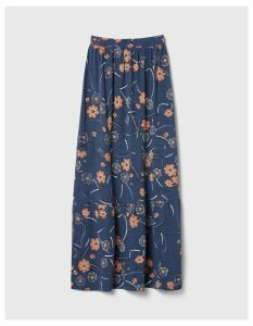 Fat Face Rue Sunset Floral Tiered Maxi Skirt