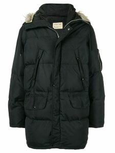 Helmut Lang Pre-Owned 1998 down puffer coat - Black