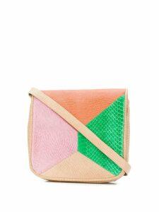 A.N.G.E.L.O. Vintage Cult colour-block shoulder bag - Neutrals
