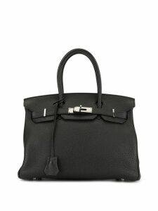 Hermès Pre-Owned Birkin 30 Handbag - Black