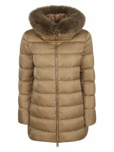 Herno High Heck Feather Hood Padded Jacket