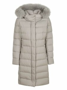 Herno Long Fur Padded Jacket