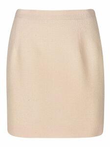 Alessandra Rich Straight Waist Mini Skirt