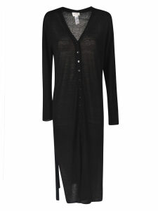 Lemaire V-neck Buttoned Long Dress