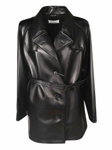 Maison Margiela Single Breasted Belted Coat