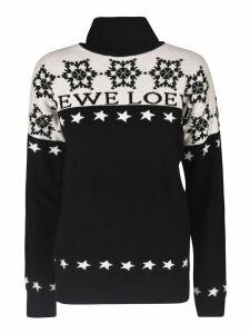 Loewe Logo Knit Star-studded Pullover