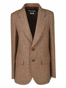 Junya Watanabe Single Breasted Stripe Check Blazer