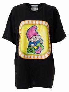 Moschino Printed Cotton T-shirt