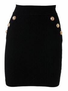 Balmain Buttoned Detail Skirt