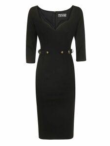 Versace Jeans Couture Waist Fit Mid-length Dress
