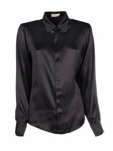 Balenciaga Fitted Satin Shirt