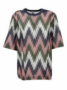 Patterned Lurex T-shirt