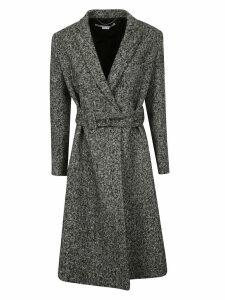 Stella McCartney Salt Pepper Tailoring Coat
