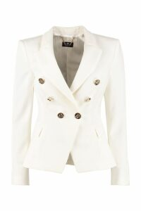 Elisabetta Franchi Celyn B. Stretch Double-breasted Blazer