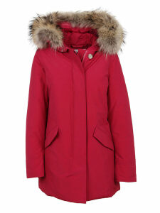 Fuchsia Cotton Padded Coat