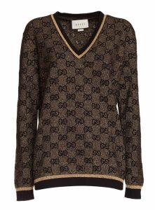 Gucci Pullover Gg Print