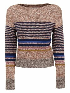 See by Chloé Embellished Textured Knit