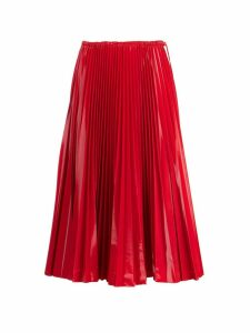 Fendi Fendi Pleated Midi Skirt