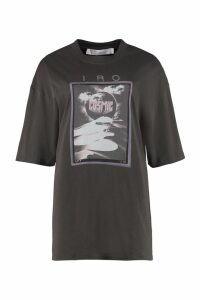 IRO Printed Cotton T-shirt