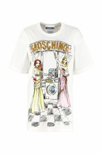 Moschino T-shirt With Print And Sequins
