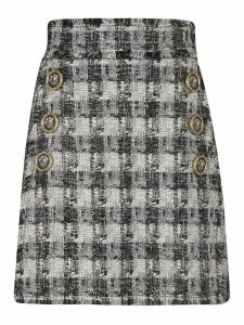 Dolce & Gabbana Checked Skirt