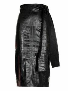 MSGM Crocco Print Skirt