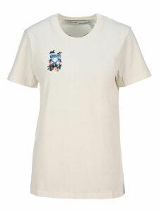 Off White Arrows Sketch Print T-shirt