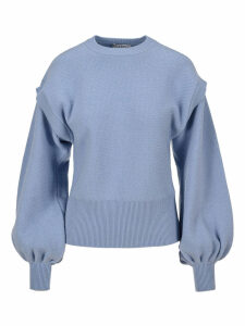 Jw Anderson Puffed Sleeves Sweater