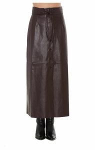 Nanushka Arfen Eco Leather Skirt