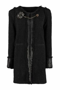 Pinko Marginare Tweed Coat