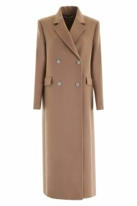Alessandra Rich Coat With Embellished Buttons