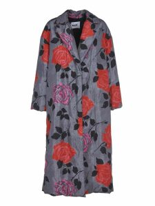 MSGM Floral Coat