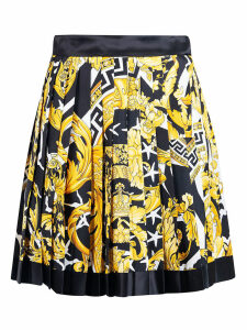 Versace Pleated Skirt