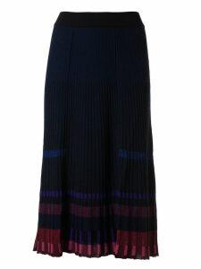 Kenzo Pleated Midi Skirt